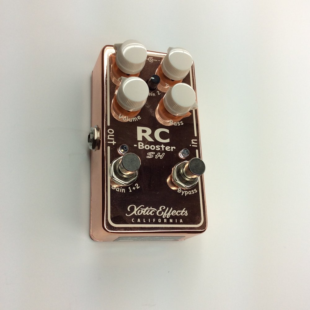 RC Booster  Make: xotic effects