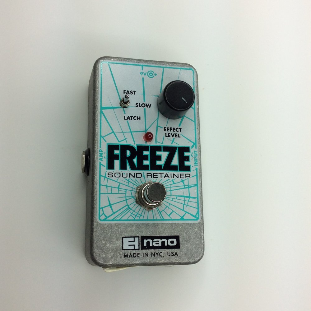 Freeze Sound Retainer  Make: electro-harmonix