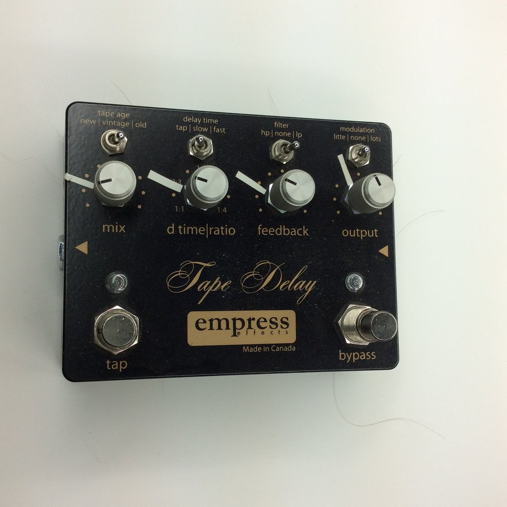 Tape Delay  Make: empress