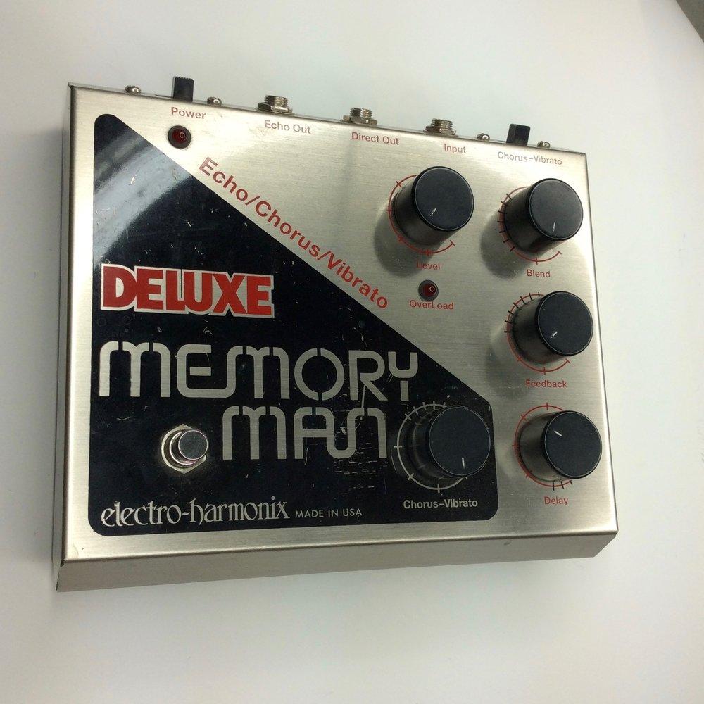 Deluxe Memory Man  Make: electro-harmonix