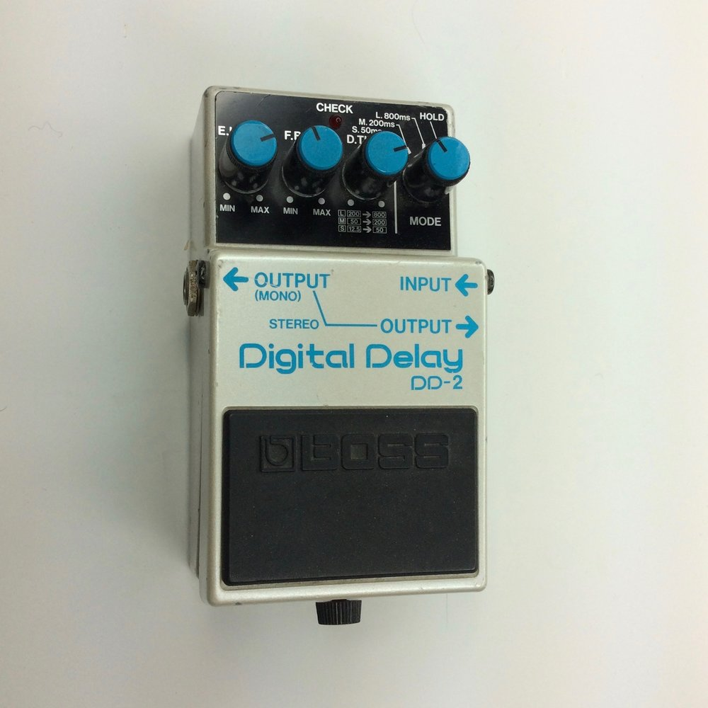 DD-2 Digital Delay  Make: BOSS