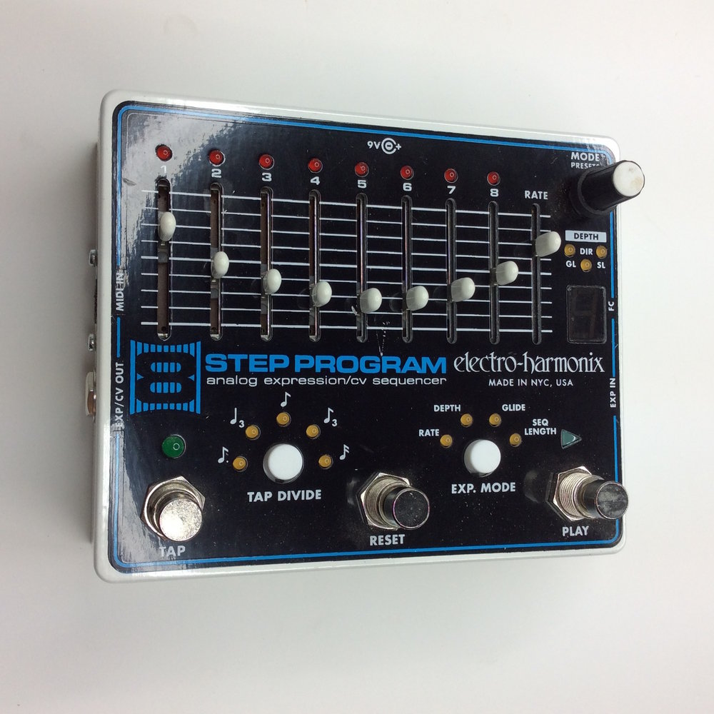 8 Step Program  Make: electro-harmonix