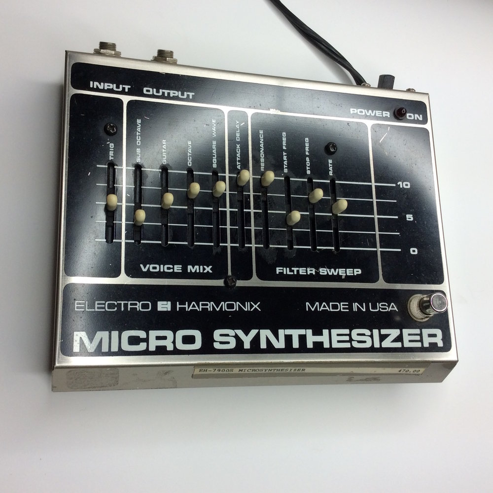 Micro Synthesizer  Make: electro-harmonix