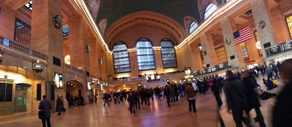 The main atrium at Grand Central Terminal, New York NY.
