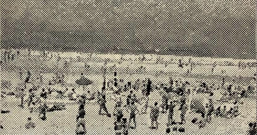 Sigmar Polke,  Strand (Beach)  , 1966