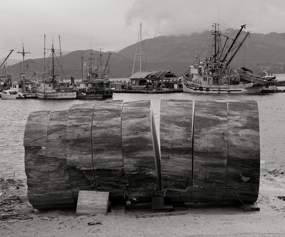 Firewood Alert Bay,2010, by Christos Dikeakos