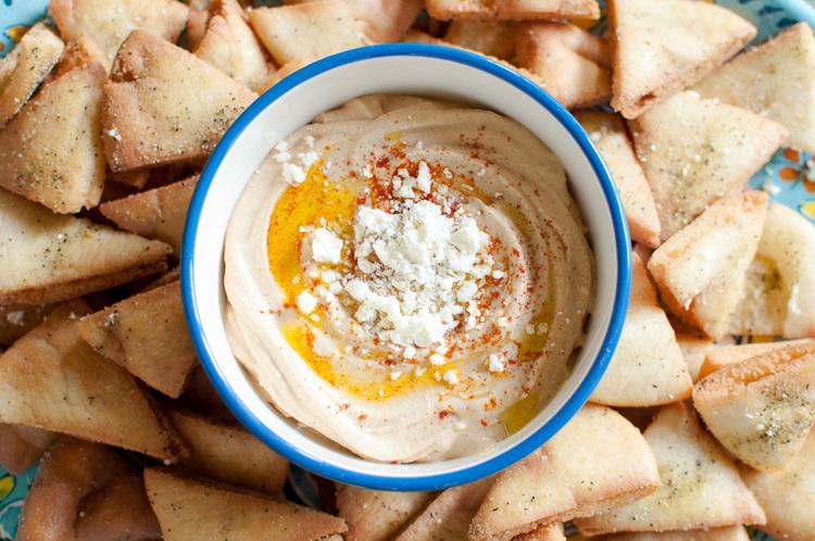 Greek Pita Chips Greek Spiced Pita Chips