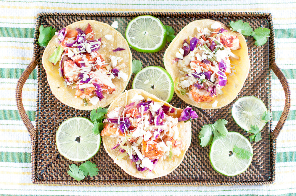 lobster tacos | kitchen lush