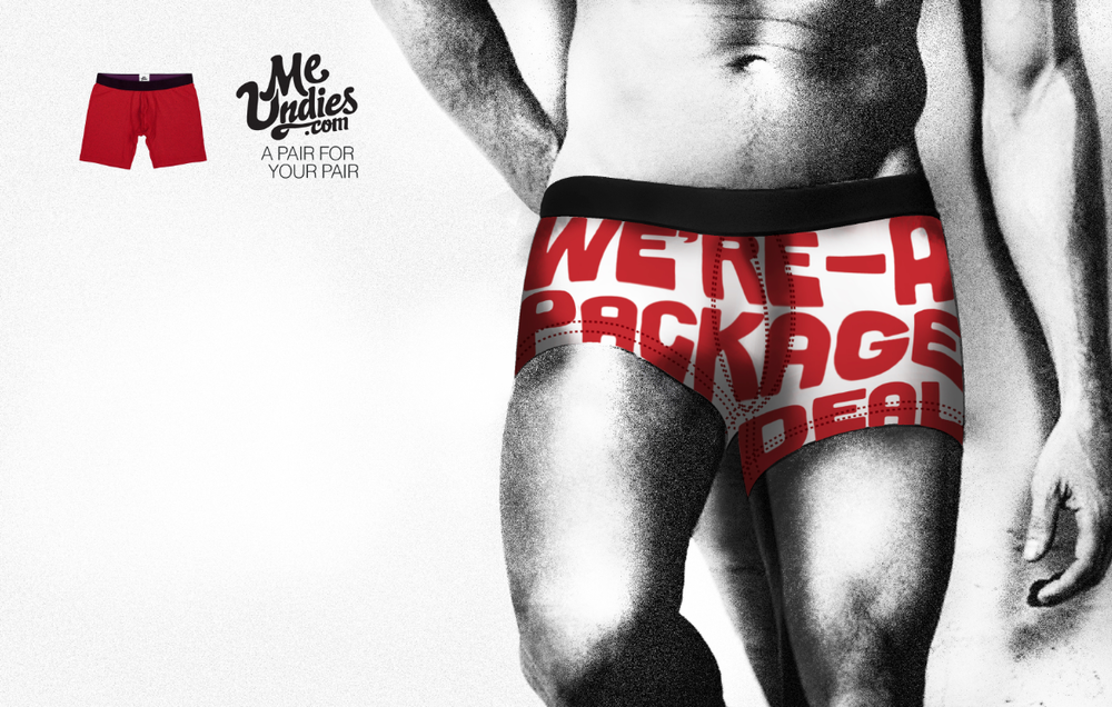 Copywriter Marty Allen and art director/designer Norberto Beltran teamed up for this campaign