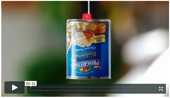 The Progresso Message campaign