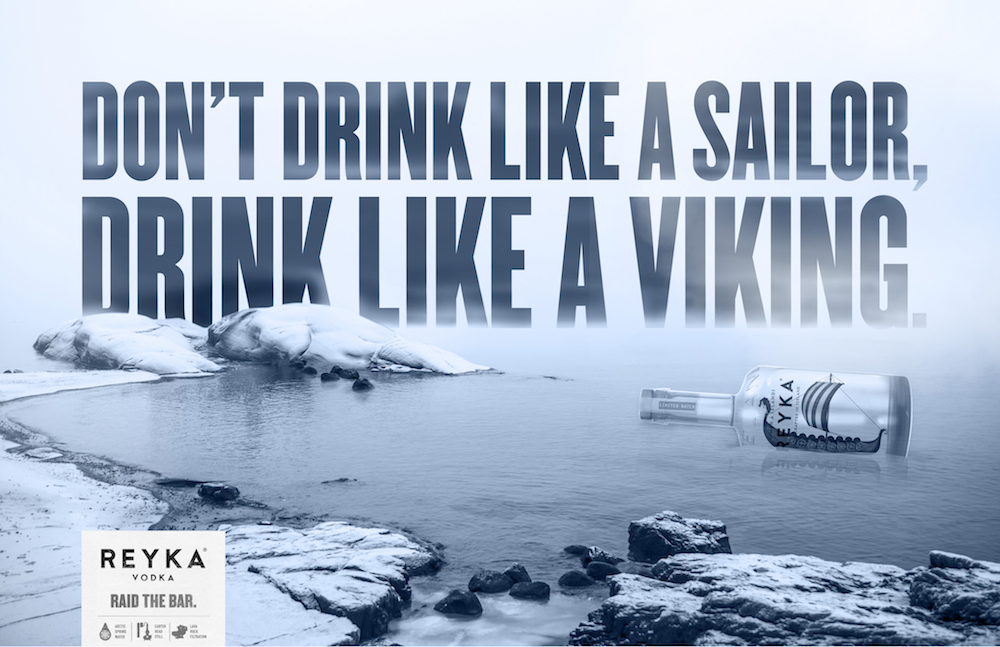 Reyka Vodka Viking