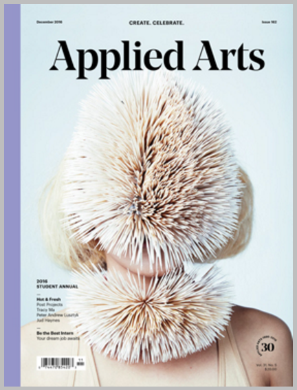 Applied Arts Magazine Nov/Dec Issue