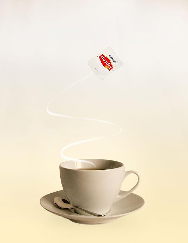 Lipton Tea ad by Jennifer Lau