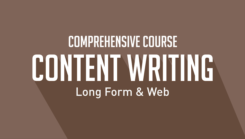 Content Writing Long Form and Web