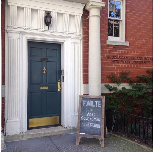 The Glucksman Ireland House at New York University