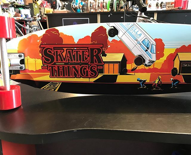 New longboards in stock! #strangerthings #skaterthings