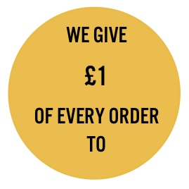 We Give £1 of Every Order To Just A Drop