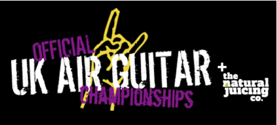 Sponsor of UK Air Guitar Championships