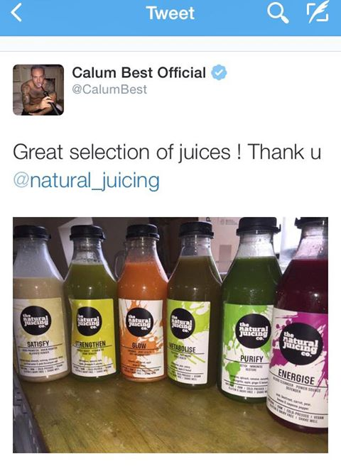 Calum Best Celebrity Juice
