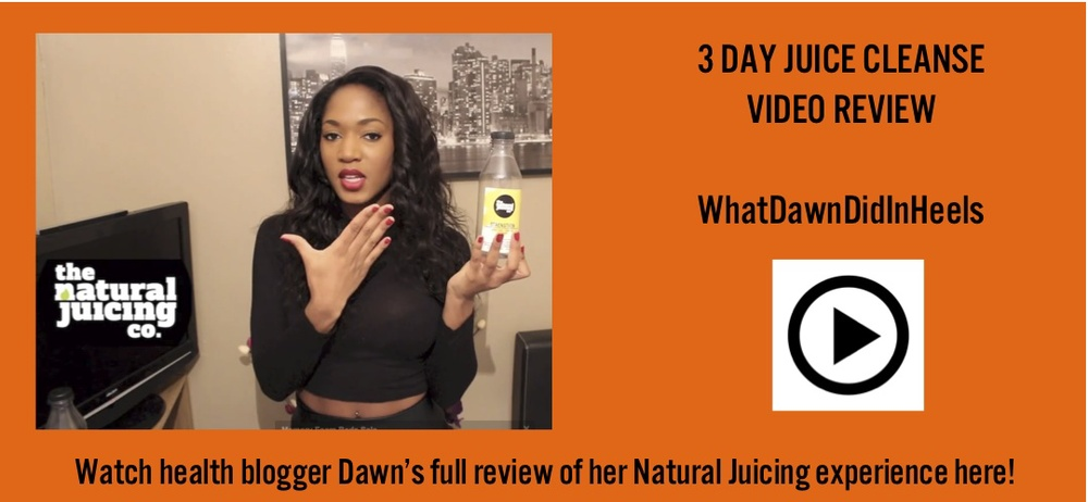 watch health and lifestyle blogger whatdawndidinheels dawn chase full natural juicing company experience here!