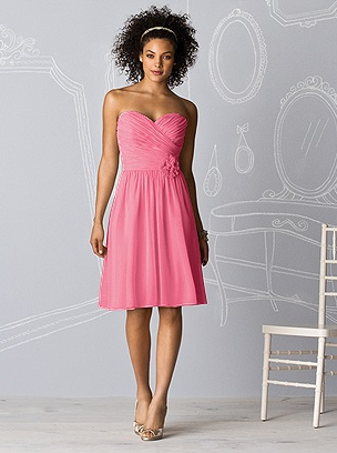AfterSixBridesmaid Dress-Pink