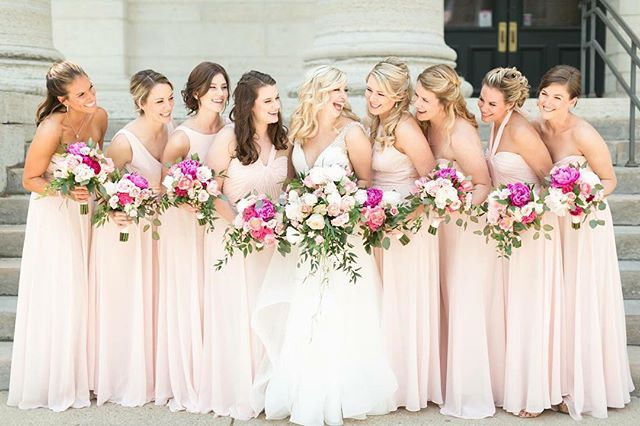 Want your #gildedtribe to look this fabulous? Then don't miss our @amsalebridesmaids Trunk Show July 19-21! Appointment link in bio ~ mention AMSALE for special offers! 📸 @megannollphotography . . . . . #bridesmaids #bridesmaid #614bride #614 #columbusohio #ohiobride #columbusbride #cbusweddings #columbusweddings #bridetribe #gildedsocial #misstomrs #futuremrs #columbusalive #expcols #asseenincolumbus #amsale #amsalebridesmaids #trunkshow #discount #sale #engaged #bridesmaidstyle #bridesmaiddress #experiencecolumbus #isaidyes #springbride #spring2019 #pursuepretty
