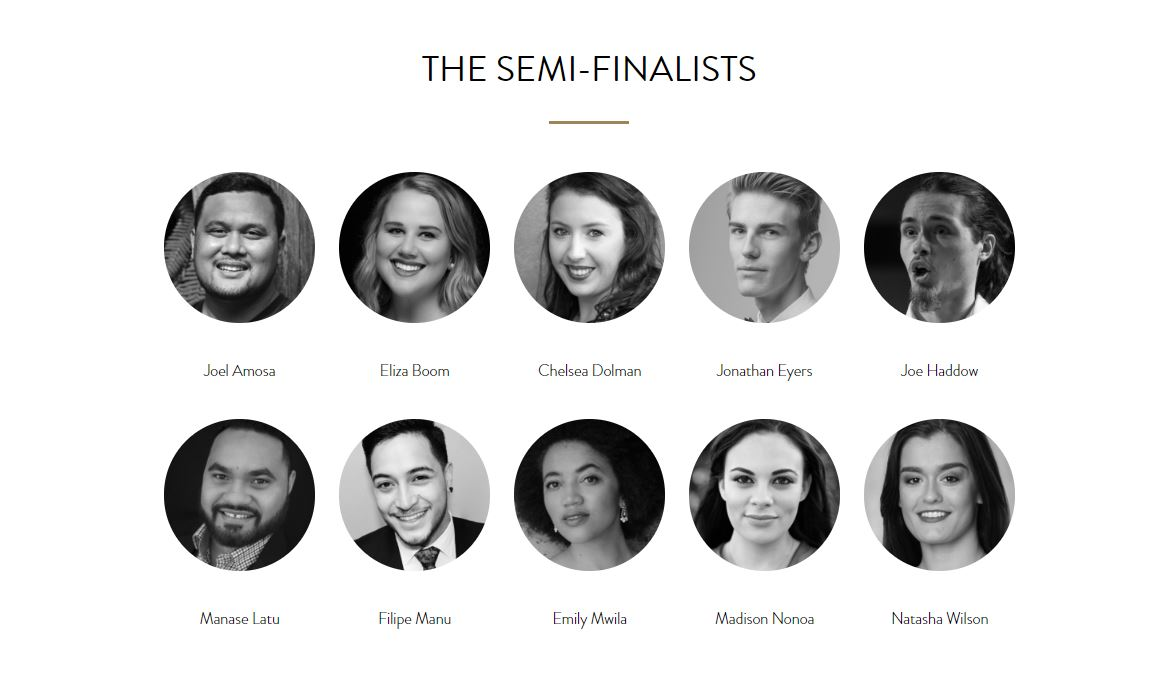 2018 Lexus Song Quest Semi-Finalists — Welcome to the New Zealand