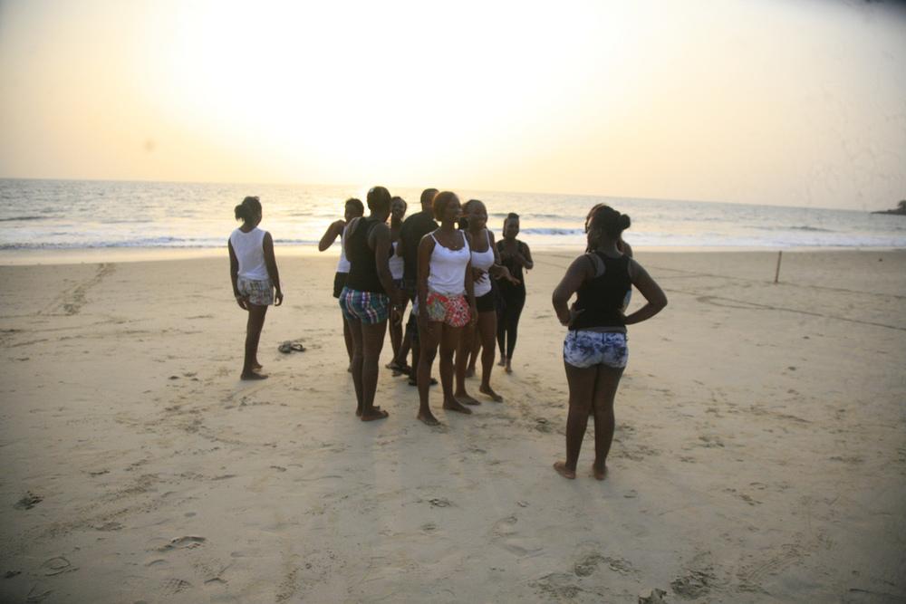 LumelyBeach_GirlsFootball, freetown