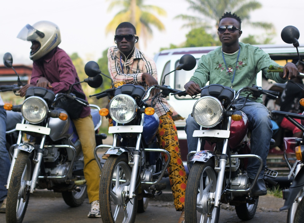 Okada Riders in the Morning, Freetown