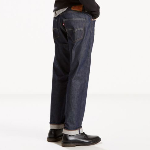 a6658561 Levi's Premium 501 Original Selvedge in Two Horse Blue, Made in USA —  Aggregate Supply