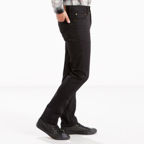 5054b93ff2a Levi's Premium 511 Slim Fit in Black Rinse PSK, Made in USA ...