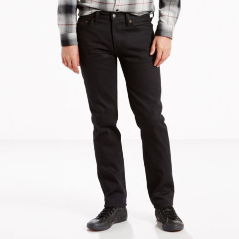 8b93817aa3d4b0 Levi's Premium 511 Slim Fit in Black Rinse PSK, Made in USA — Aggregate  Supply
