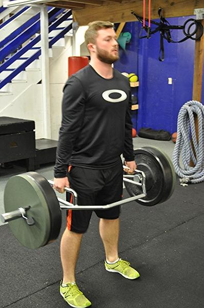 Hex bar training for all-around baseball strength