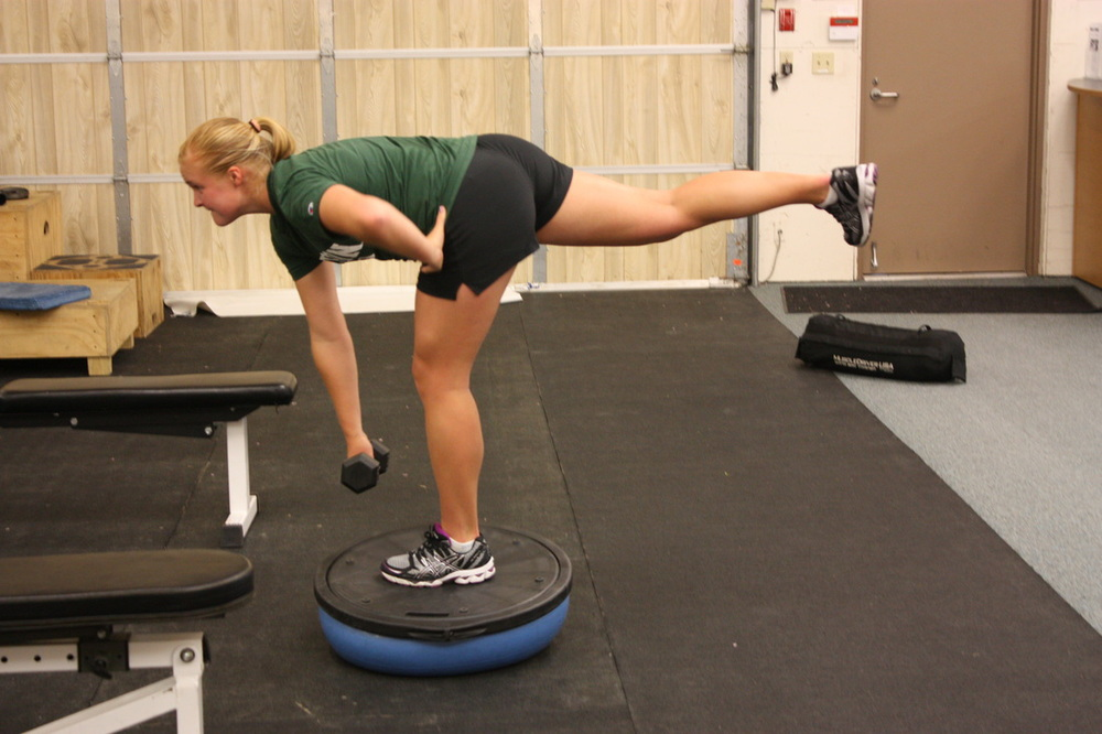 Elite athletics strength, balance, and flexibility training