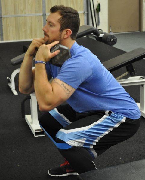 Front squat for elite baseball
