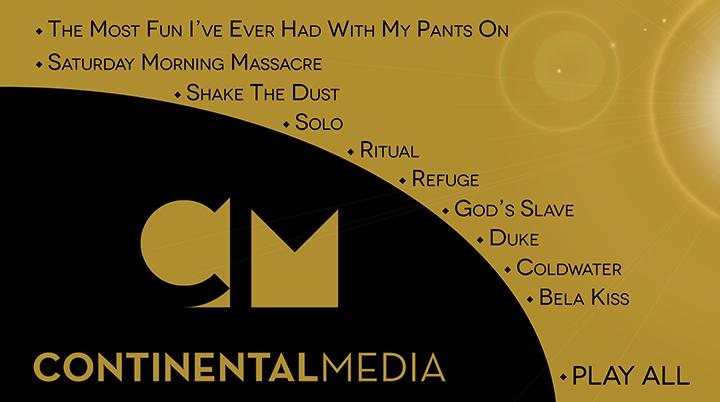 Continental Media Menu