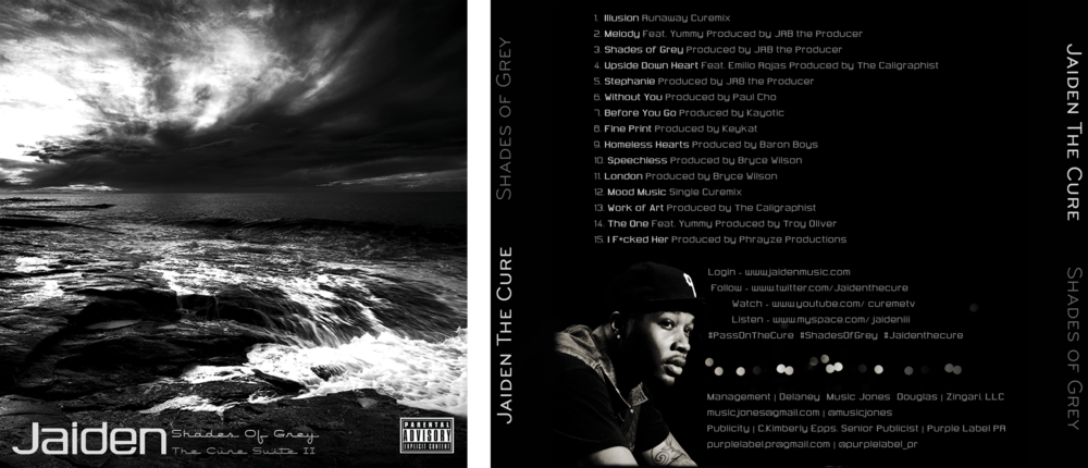 Jaiden the Cure-Shades of Grey CD