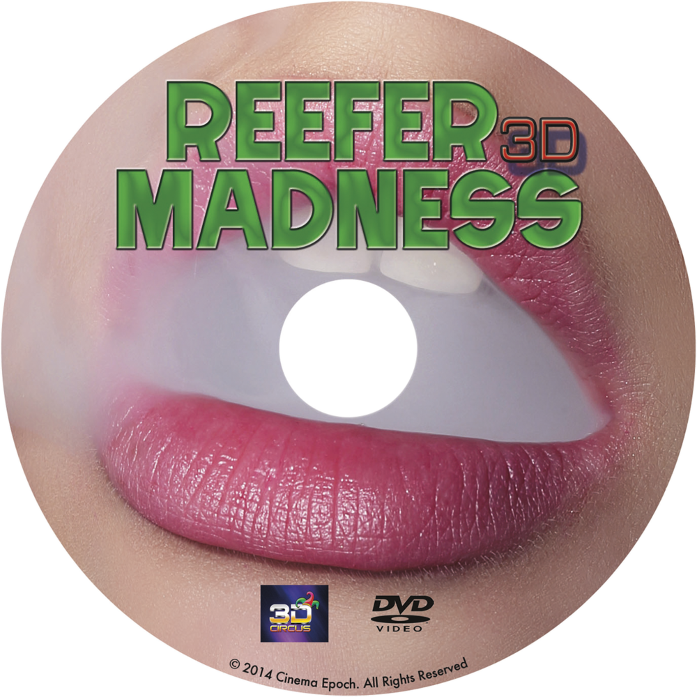 Reefer Madness 3D DVD