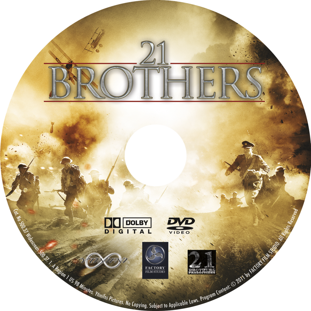 21 Brothers DVD