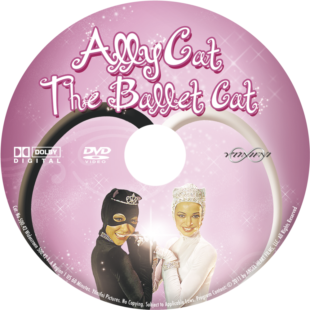 Ally Cat The Ballet Cat DVD