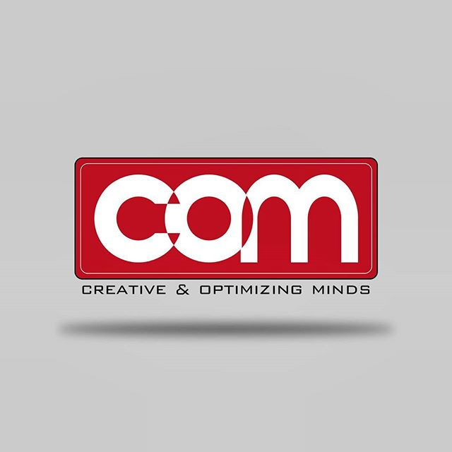 New logo - COM (Creative &Optimizing Minds) @larryclayfield @herterlousebastian