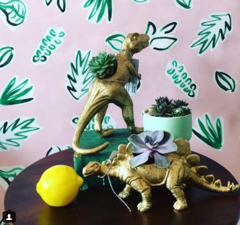 Sill Life - Dinosaur Succulent Planter