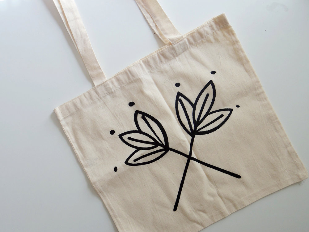 Our signature tote bag
