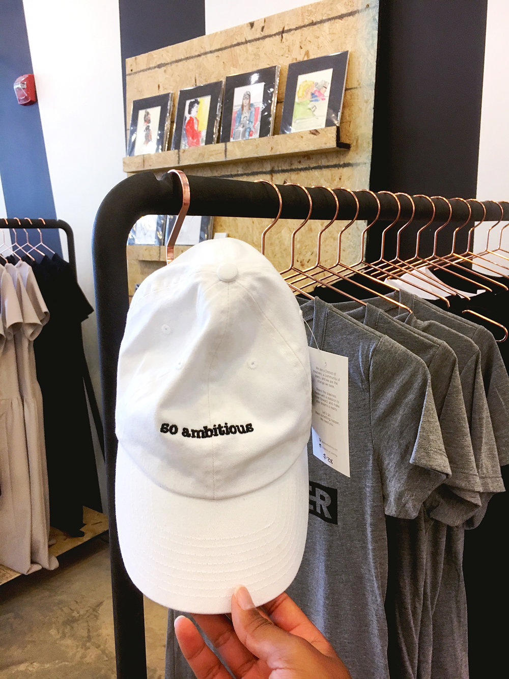 So Ambitious Hat by  District of Clothing