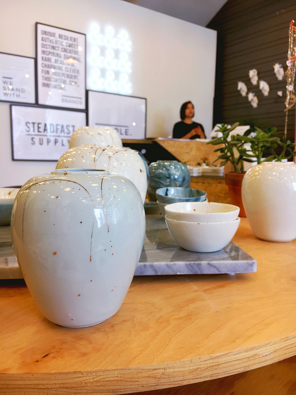 Ceramic Vase by  Tin Tin's Pieces