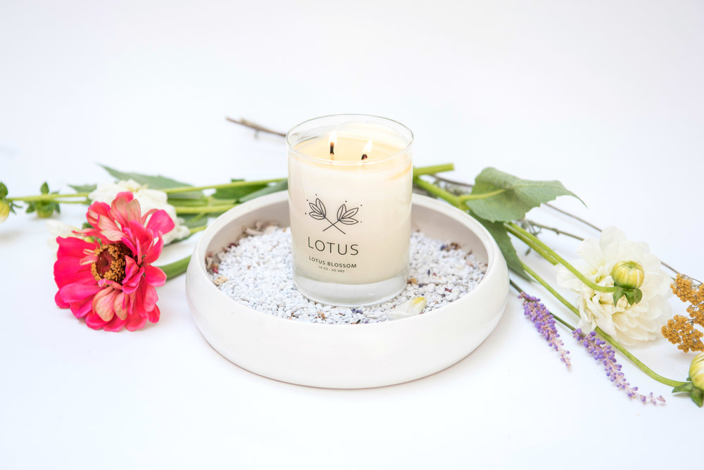 Lotus Soy Candle