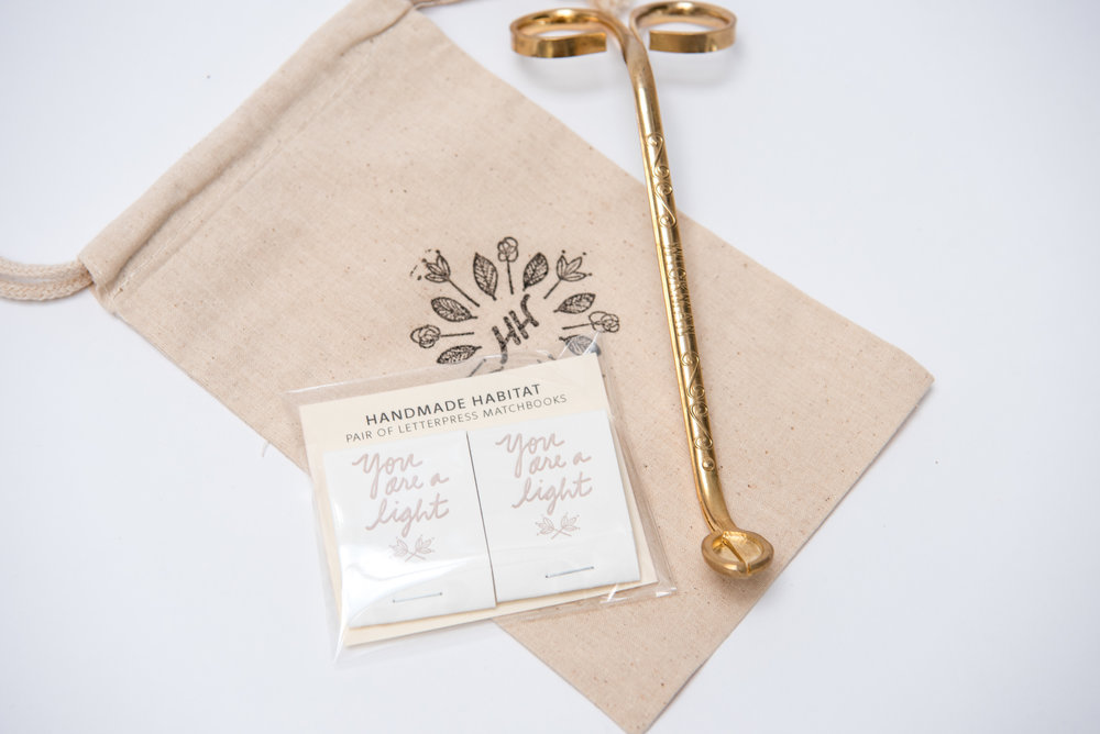 Candle Accessories Gift Set