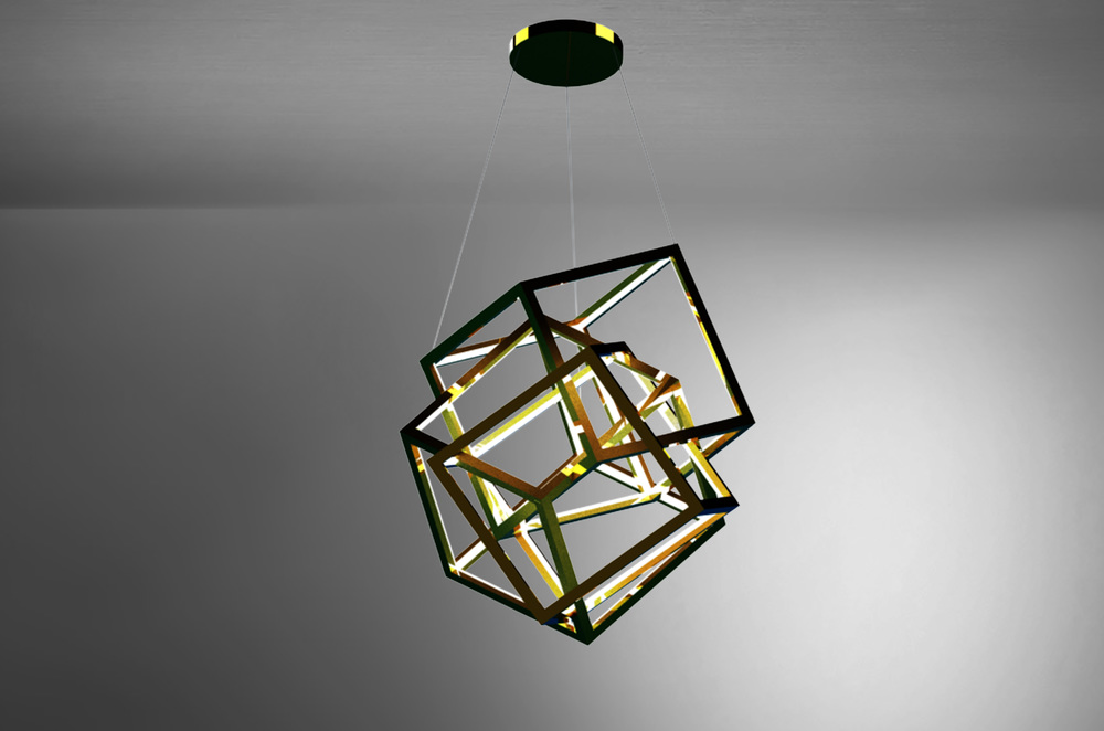 PYRO SCULPTURE PENDANT LIGHT