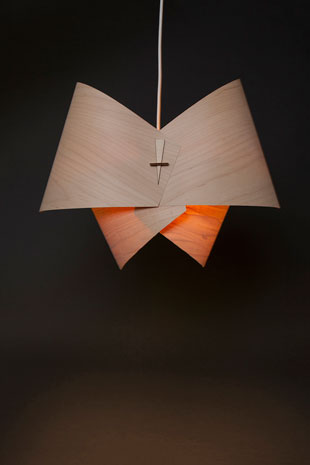 HANGING BOW LAMP
