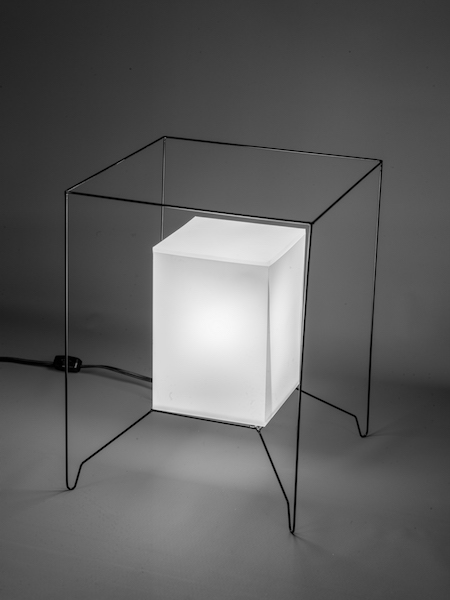 "Box Lamp  ""Shifting the paradigm"""